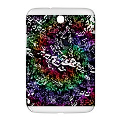 Urock Musicians Twisted Rainbow Notes  Samsung Galaxy Note 8.0 N5100 Hardshell Case