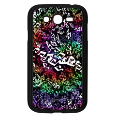 Urock Musicians Twisted Rainbow Notes  Samsung Galaxy Grand DUOS I9082 Case (Black)