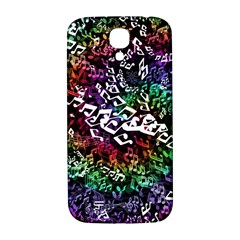 Urock Musicians Twisted Rainbow Notes  Samsung Galaxy S4 I9500/I9505  Hardshell Back Case