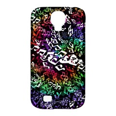 Urock Musicians Twisted Rainbow Notes  Samsung Galaxy S4 Classic Hardshell Case (PC+Silicone)