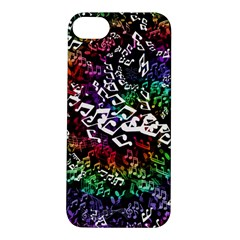 Urock Musicians Twisted Rainbow Notes  Apple iPhone 5S Hardshell Case