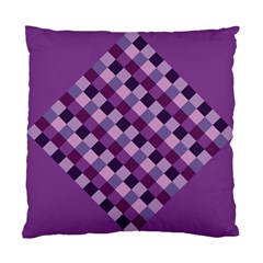 Purple Cushion Case (two Sided)