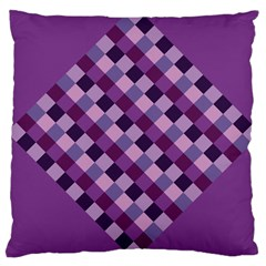 Purple Large Cushion Case (Two Sided)