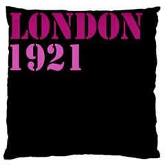 London 1921 Large Cushion Case (Single Sided)