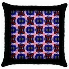 GoUSA Black Throw Pillow Case
