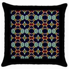 Michael Design Black Throw Pillow Case