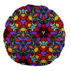 Bright Colors 18  Premium Round Cushion