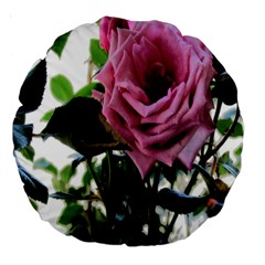 Rose 18  Premium Round Cushion