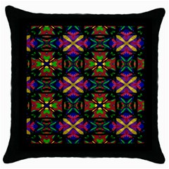 Regina Design Black Throw Pillow Case