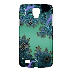 Celtic Symbolic Fractal Design In Green Samsung Galaxy S4 Active (i9295) Hardshell Case