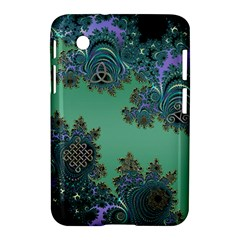 Celtic Symbolic Fractal Design in Green Samsung Galaxy Tab 2 (7 ) P3100 Hardshell Case