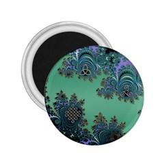 Celtic Symbolic Fractal 2.25  Button Magnet