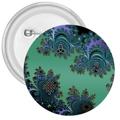 Celtic Symbolic Fractal 3  Button