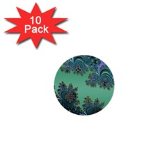 Celtic Symbolic Fractal 1  Mini Button (10 pack)