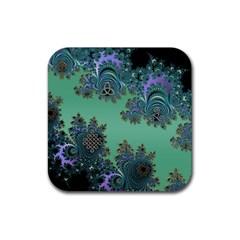 Celtic Symbolic Fractal Drink Coaster (Square)