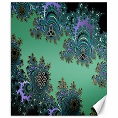 Celtic Symbolic Fractal Canvas 20  x 24  (Unframed)