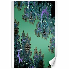 Celtic Symbolic Fractal Canvas 20  x 30  (Unframed)