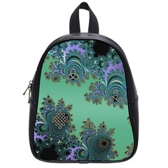 Celtic Symbolic Fractal School Bag (Small)