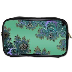 Celtic Symbolic Fractal Travel Toiletry Bag (Two Sides)