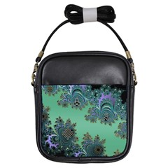 Celtic Symbolic Fractal Girl s Sling Bag