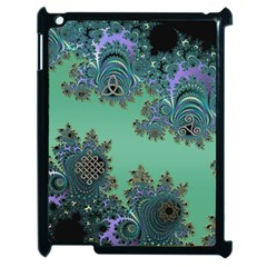 Celtic Symbolic Fractal Apple iPad 2 Case (Black)