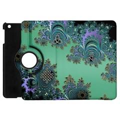 Celtic Symbolic Fractal Apple iPad Mini Flip 360 Case