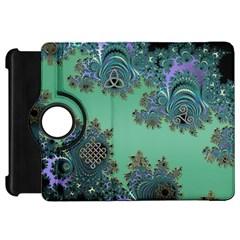 Celtic Symbolic Fractal Kindle Fire HD 7  (1st Gen) Flip 360 Case