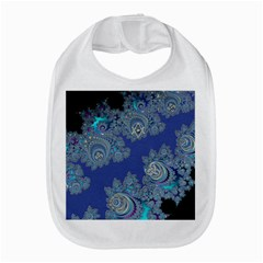 Blue Metallic Celtic Fractal Bib