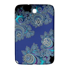 Blue Metallic Celtic Fractal Samsung Galaxy Note 8.0 N5100 Hardshell Case