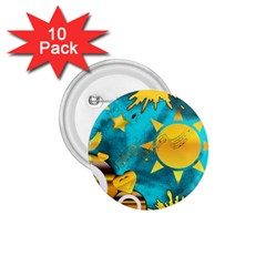 Musical Peace 1.75  Button (10 pack)
