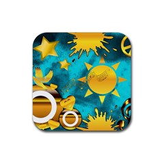 Musical Peace Drink Coaster (square)