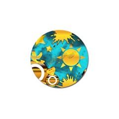 Musical Peace Golf Ball Marker