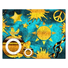Musical Peace Jigsaw Puzzle (rectangle)