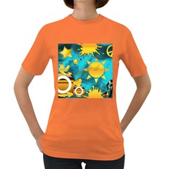 Musical Peace Women s T-shirt (Colored)