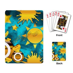 Musical Peace Playing Cards Single Design
