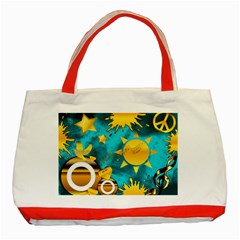 Musical Peace Classic Tote Bag (Red)
