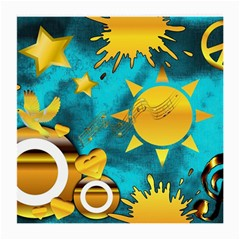 Musical Peace Glasses Cloth (Medium, Two Sided)