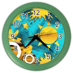 Musical Peace Wall Clock (Color)