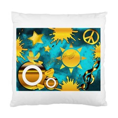 Musical Peace Cushion Case (Two Sided)