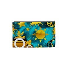 Musical Peace Cosmetic Bag (small)
