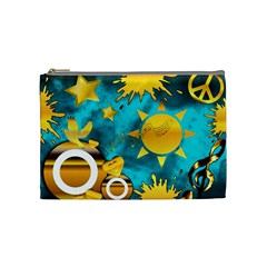 Musical Peace Cosmetic Bag (medium)