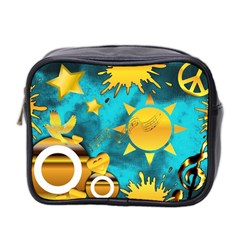 Musical Peace Mini Travel Toiletry Bag (Two Sides)