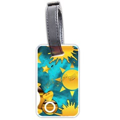 Musical Peace Luggage Tag (Two Sides)
