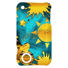 Musical Peace Apple iPhone 3G/3GS Hardshell Case