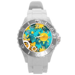 Musical Peace Plastic Sport Watch (Large)