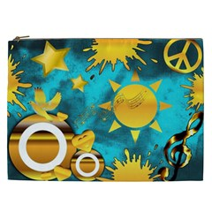 Musical Peace Cosmetic Bag (XXL)