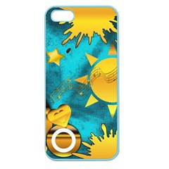 Musical Peace Apple Seamless iPhone 5 Case (Color)
