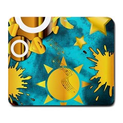 Musical Peace  Large Mouse Pad (rectangle)