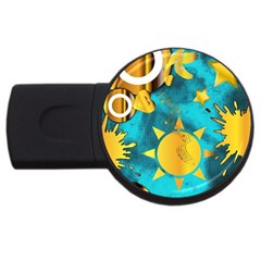 Musical Peace  2gb Usb Flash Drive (round)