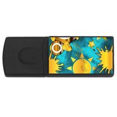 Musical Peace  4GB USB Flash Drive (Rectangle)